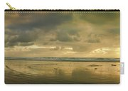 Haystack Sunset Panorama Carry-all Pouch