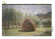 Haystacks At Giverny Carry-all Pouch