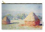 Haystacks In The Sun Carry-all Pouch