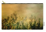 Haze On Moonlit Meadow Carry-all Pouch