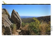 Hazel Mountain Overlook On Skyline Drive In Shenandoah National Park Carry-all Pouch