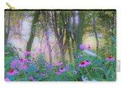 Hazy Garden Sunrise Carry-all Pouch