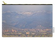 Hazy Low Cloud Morning Boulder Colorado University Scenic View  Carry-all Pouch by James BO  Insogna