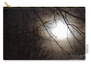 Hazy Moon Through The Trees Carry-all Pouch
