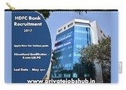 Hdfc Bank Recruitment Carry-all Pouch