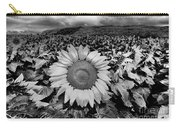 Hdr Sunflower Field. Carry-all Pouch