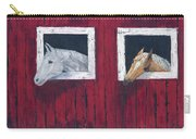 He And She Carry-all Pouch by Kathryn Riley Parker