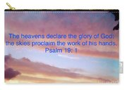 He Created The Heavens  Carry-all Pouch