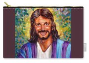 He Smiles Carry-all Pouch by John Lautermilch