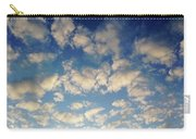 Head In The Clouds- Art By Linda Woods Carry-all Pouch