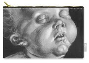 Head Of A Child Carry-all Pouch
