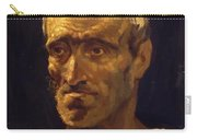 Head Of A Shipwrecked Man Study For The Raft Of Medusa 1819 Carry-all Pouch