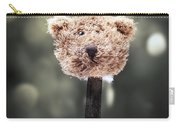 Head Of A Teddy Carry-all Pouch by Joana Kruse