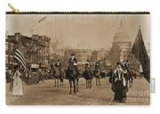 Head Of Washington D.c. Suffrage Parade Carry-all Pouch