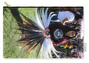 Head Piece Dancer Day Of The Dead  Carry-all Pouch