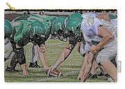 Head To Head Digital Art Carry-all Pouch