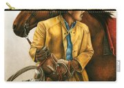 Heading Out Into The Storm Carry-all Pouch by Pat Erickson