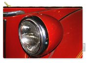 Headlamp On Antique Fire Engine Carry-all Pouch