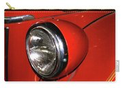 Headlamp On Red Firetruck Carry-all Pouch