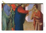 Healing The Man Born Blind Fragment 1311 Carry-all Pouch