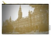 Healy Hall Sepia Carry-all Pouch