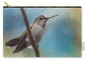 Hear Her Song - Hummingbird Art Carry-all Pouch