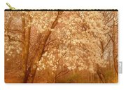 Hear The Silence - Holmdel Park Carry-all Pouch by Angie Tirado