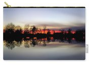 Hearns Pond Silhouette Carry-all Pouch