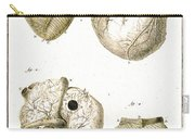 Heart And Muscle Fibers, 18th Century Carry-all Pouch
