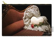 Heart And Rose Victorian Style Carry-all Pouch