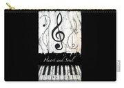 Heart And Soul - Music In Motion Carry-all Pouch