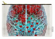Heart Art - Think Love - By Sharon Cummings Carry-all Pouch