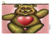 Heart Bear Carry-all Pouch