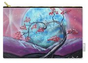 Heart Blossom Carry-all Pouch