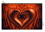 Heart In Flames Carry-all Pouch