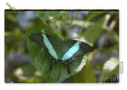 Heart Leaf Butterfly Carry-all Pouch