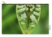 Heart Of A Fern Carry-all Pouch