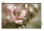 Heart Of A Rose - Antique Pink Carry-all Pouch