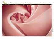 Heart Of A Rose In Pink Carry-all Pouch