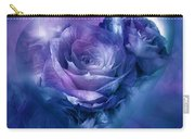 Heart Of A Rose - Lavender Blue Carry-all Pouch