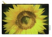 Heart Of Gold Sunflower Carry-all Pouch