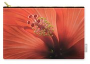 Heart Of Hibiscus Carry-all Pouch