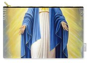 Heart Of Mary Carry-all Pouch