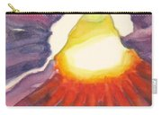 Heart Of The Flower Carry-all Pouch