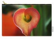 Heart Of The Lily Carry-all Pouch