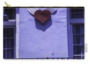 Heart On Wall Carry-all Pouch