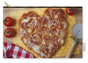 Heart Shaped Pizza Carry-all Pouch
