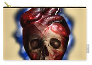 Heart Skull Carry-all Pouch