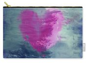 Heart Waves Carry-all Pouch