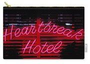 Heartbreak Hotel Neon Carry-all Pouch